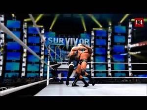 WWE 2K14 MACHINIMA - WWE Survivor Series 2013 - Randy Orton vs Big Show