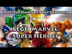 LEGO Marvel: Super Heroes w/ Doctor Omron - Ep. 30 - Research Submarine