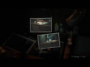Resident Evil 2 (Remake) - Treasure Hunter (Hiding Places) and Rising Rookie Film (Rebecca Chambers)