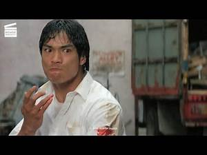 Dragon: The Bruce Lee Story: Kitchen fight HD CLIP