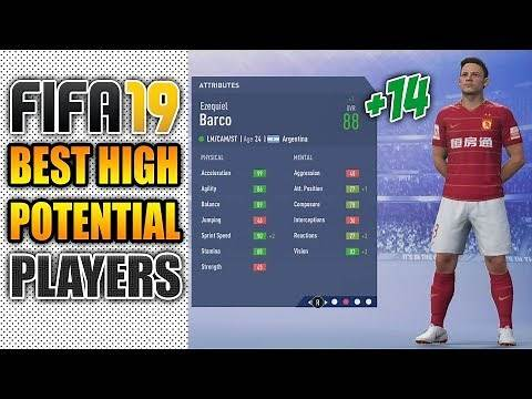 FIFA 19 Best Cheap High Potential Players To Buy (Under 23) in Career Mode