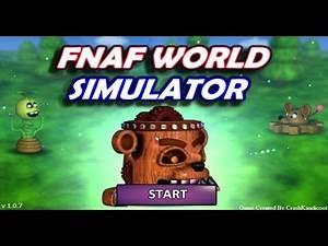 WE PLAY AS THE BAD GUYS?! | FNaF World Simulator
