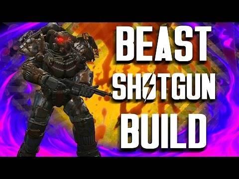 Fallout 4 Builds - The Shotgun Surgeon - Beast Shotgun Build