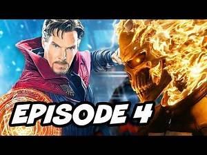 Agents Of SHIELD Season 4 Episode 4 - TOP 10 WTF Ghost Rider vs Hellfire