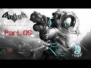 [4K] Batman: Arkham City Walkthrough (PC) - Part 05 - Mr. Freeze