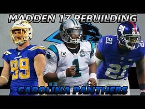 Madden 17 Connected Franchise | Rebuilding The Carolina Panthers | BACK TO THE SUPER BOWL!