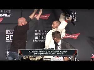 Pre-fight Press Conference Conor McGregor interesting points