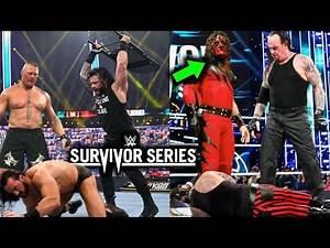 WWE Survivor Series 2020 SURPRISES, SPOILERS & All Winners Leaked - Brock Lesnar Returns!