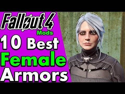 Top 10 Best Female Armor, Apparel and Outfit Mods for Fallout 4 (PC Mods, CBBE) #PumaCounts