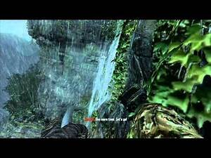 Call of Duty: Black Ops 2: Swinging across a rock-face & flying like a lemur (1080p HD) - Xbox 360