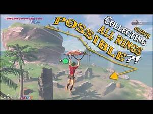 Can Link Collect ALL RINGS with GLITCH?! Breaking the Mini Game in Zelda Breath of the Wild