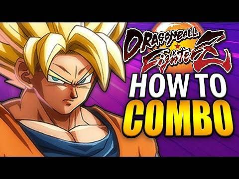 Dragon Ball FighterZ - How to Combo with Every Character!