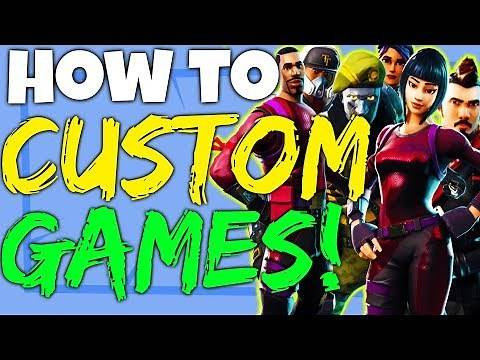 Fortnite Battle Royale How To Play Custom Games Private Matches - PC, Xbox One and PS4