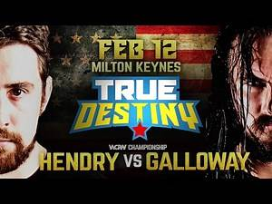 Special Guest Referee For WCPW True Destiny Title Match