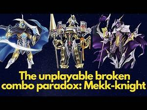 Mekk-knight: why is a broken combo not doing anything in competitive? FULL HAND DISCARD! Yu-Gi-Oh!