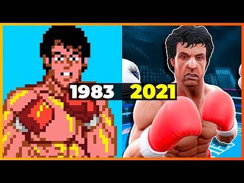 Evolution of Rocky Games (1983-2021) [4K]