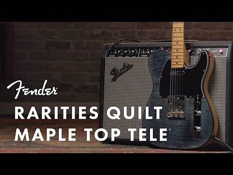 Rarities Quilt Maple Top Telecaster I Rarities Collection I Fender