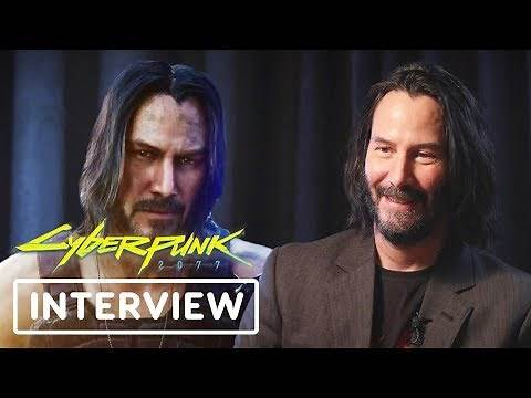 Keanu Reeves Talks About What's Cool in Cyberpunk 2077 - E3 2019
