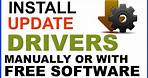 How to Update Windows 7 Drivers Manually or using Free Software Driver Easy[Windows 7 Driver Free]