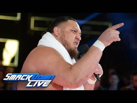 Samoa Joe ruins Jeff Hardy's 20th anniversary celebration: SmackDown LIVE, Nov. 27, 2018
