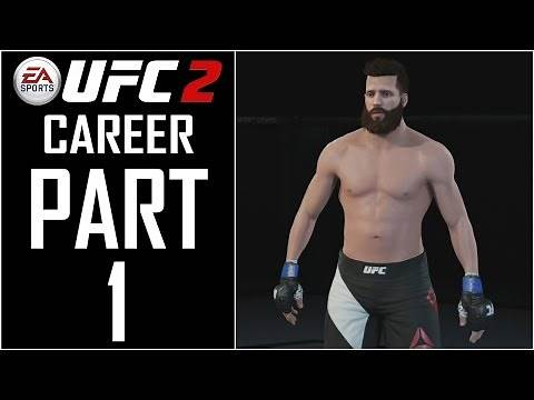 """EA Sports UFC 2 - Career - Let's Play - Part 1 - """"Fighter Creation"""" 