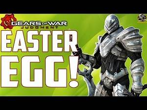 "Gears of War Judgment Easter Eggs - ""Infinity Blade"" Museum Easter Egg! (GOWJ Throwback)"