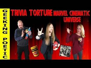 TRIVIA TORTURE! MARVEL CINEMATIC UNIVERSE (and Vegemite!!)