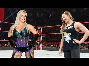 Ronda Rousey vs. Dana Brooke: Normal Match
