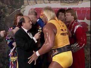 WWF Survivor Series 1987 - The Hulkamaniacs Interview