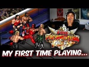 MY FIRST TIME PLAYING FIRE PRO WRESTLING WORLD (holy sh*t...)