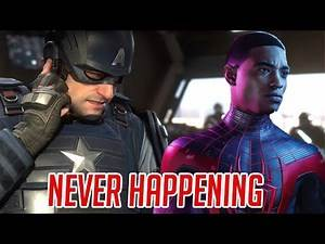 A Marvel Gaming Universe Is NOT Happening In Marvels Avengers Game OR Spiderman - Why It Can't