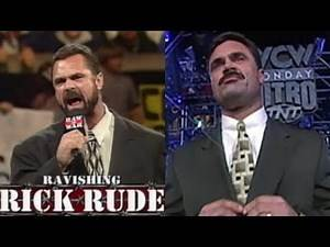 RICK RUDE APPEARS ON WCW AND WWF ON THE SAME NIGHT