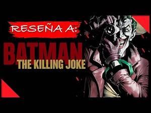 The Killing Joke (Cómic) ¿Obra maestra o Sobrevalorada? - Reseña || Strange Gentleman