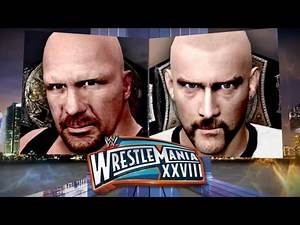 Stone Cold Steve Austin and CM Punk Meet This Sunday in the Main Event of WrestleMania XXVIII!