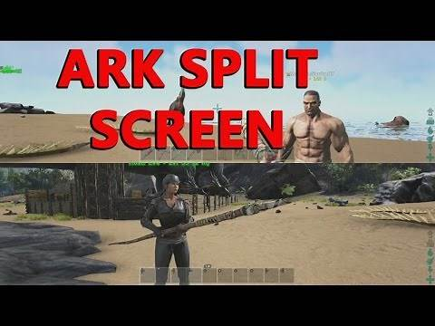 Ark Survival Split Screen Xbox One - How to and pros and cons,