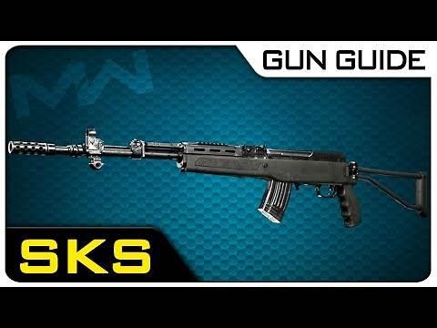 SKS Stats & Best Attachments! | Modern Warfare Gun Guide #30