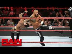 WWE 2K19 - Lio Rush & Bobby Lashley vs Finn Bàlor & Ricochet