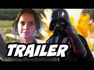 Star Wars Rogue One Darth Vader Trailer 2 Breakdown