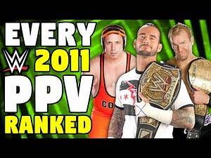 Every 2011 WWE PPV Ranked From WORST To BEST