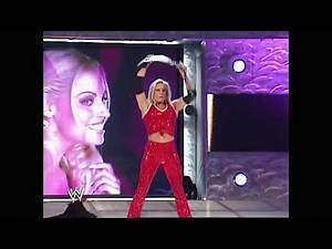 10-14-02 | Victoria & Molly Holly vs Jacqueline & Trish Stratus | Stacy Keibler Special Referee