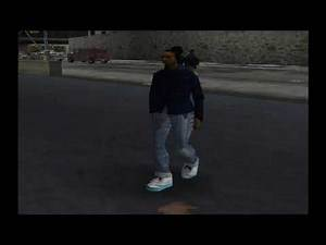 GTA 3 Ped Quotes - Black Female W/ Blue Outfit