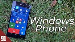 Using a Windows Phone, 5 years later