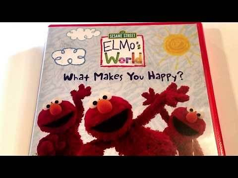 Elmo's World * What Makes You Happy? * Sesame street * DVD Movie Collection
