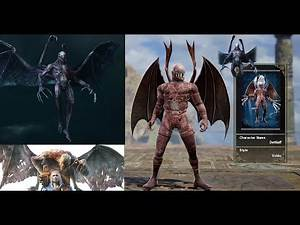 Witcher 3 Beast of Beauclair in SoulCalibur 6 (Custom Character)