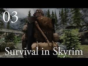 "Survival in Skyrim (Hardcore Modded Skyrim): Ep 3 - ""Green Acres!"""