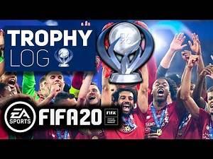 Trophy Log: FIFA 20 PLATINUM TROPHY PS4 !!