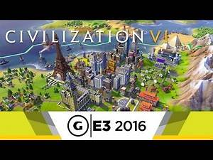 Official E3 2016 Walkthrough - Civilization VI