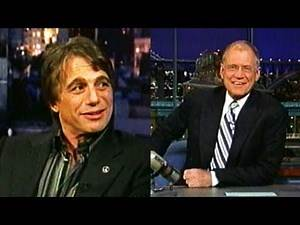 Tony Danza Promotes His Talk Show on Letterman (2004)