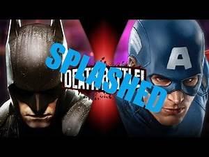 Captain America vs Batman DEBUNKED! Straight Facts.