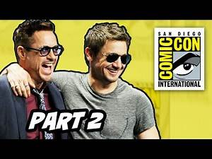 Marvel Comic Con 2014 Panel Part 2 - Avengers Age of Ultron
